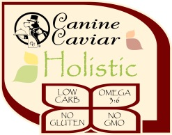Holistic_Logo_Feature_CanineCaviar_with_Clover_text_outline